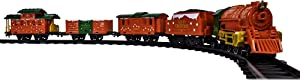 Lionel Northern Star, Miniature Battery-powered Model Train Set with Track, Multicolor
