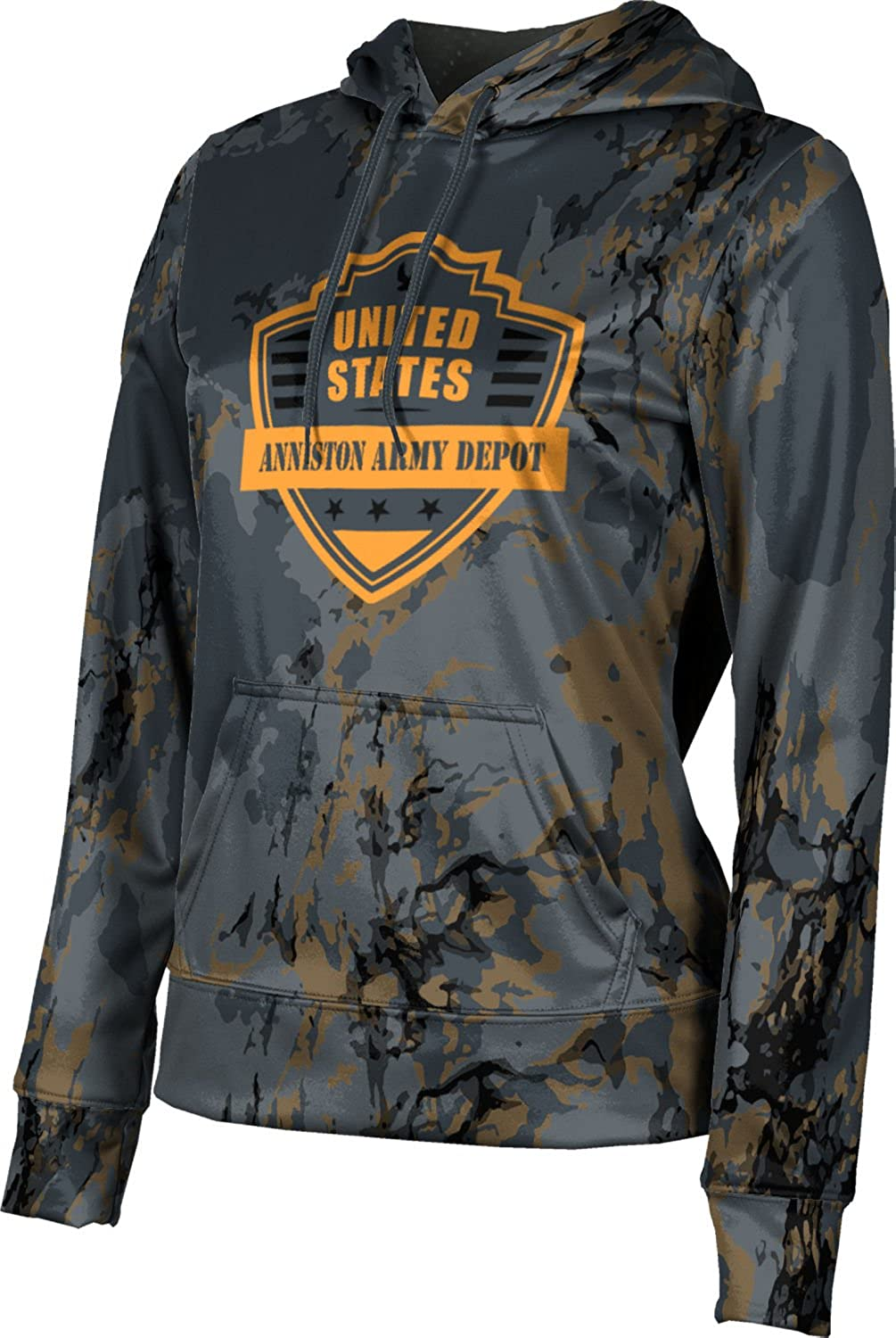 ProSphere Women's Anniston Army Depot Military Marble Pullover Hoodie