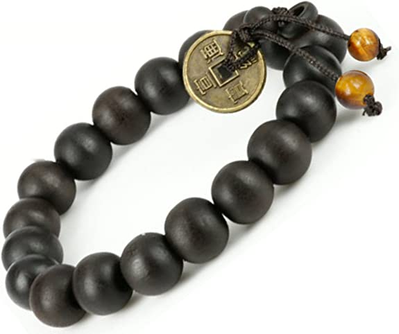 Buddha Bead Bracelet \u2022 Buddhist Charm Bracelet \u2022 Spiritual Prayer Beads \u2022 Tibetan Shamballa Wrist Mala \u2022 Onassis Krown Signature Collection