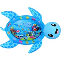 MAGIFIRE Tummy Time Water Mat,Inflatable Baby Water Mat Newborn Infant Toys Gifts for 3 6 9 18 Months Boy Girl(Sea…