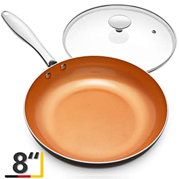 MICHELANGELO 8 Inches Omelette Pan