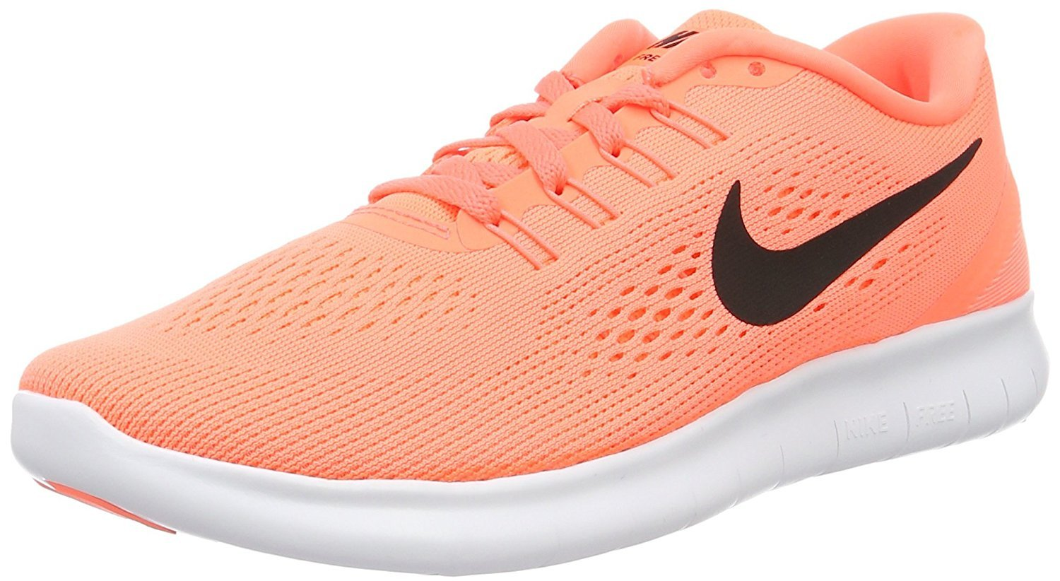NIKE Women's Free RN Running Shoes B00IFOU0MG 10 B(M) US|Bright Mango/Black