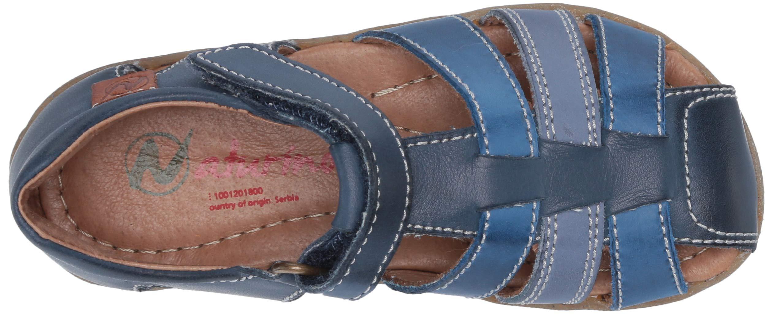 Naturino Boys See Gladiator Sandals, Multicolour (Navy/Azzurro/Celeste 1c53), 7 UK 7UK Child by Naturino (Image #8)