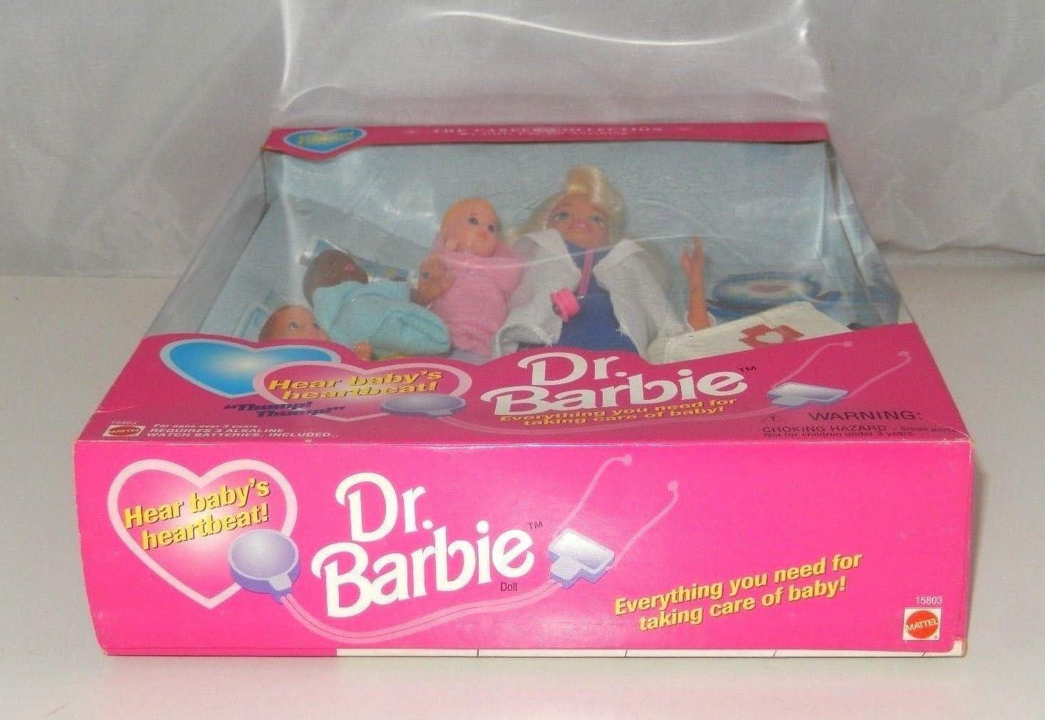 1995 Dr. Barbie by Mattel: Amazon.es: Juguetes y juegos