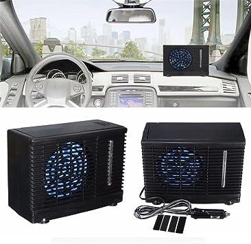 Auto coche portátil ventilador ventilador potente Auto aire ...
