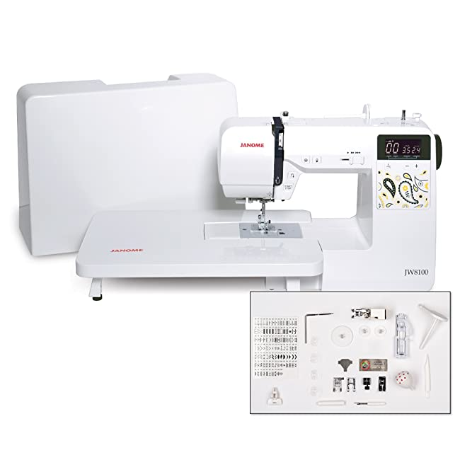Best Sewing Machine For The Money: Janome JW8100 Review