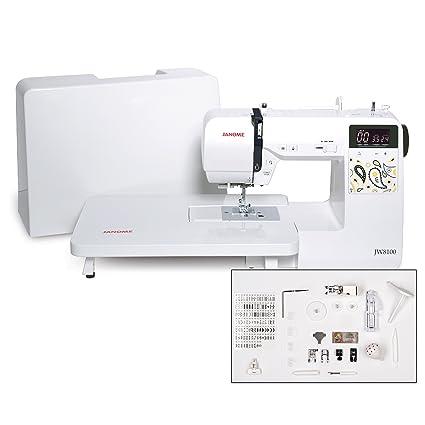 Amazon Janome JW40 FullyFeatured Computerized Sewing Machine Classy Janome Sewing Machine Tables