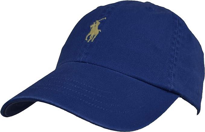 Ralph Lauren - Gorra de béisbol, algodón, talla única azul Talla ...
