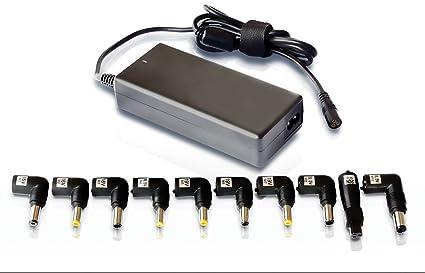 Leotec LENCSHOME06 - Cargador universal para portátil, 90 W, voltaje automatico, red domestica