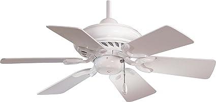 Good Minka Aire F562 WH, Supra, 32u0026quot; Ceiling Fan, White