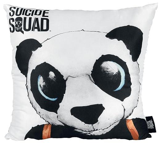 Suicide Squad Panda Cojín decorativo multicolor: Amazon.es ...