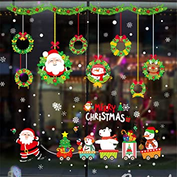 Amazon.com: OldSch001 Wall Sticker Clearance 2019 Merry Christmas ...