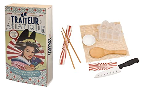 Cofanetto Sushi Maki accessori cucina giapponese, idea regalo ...