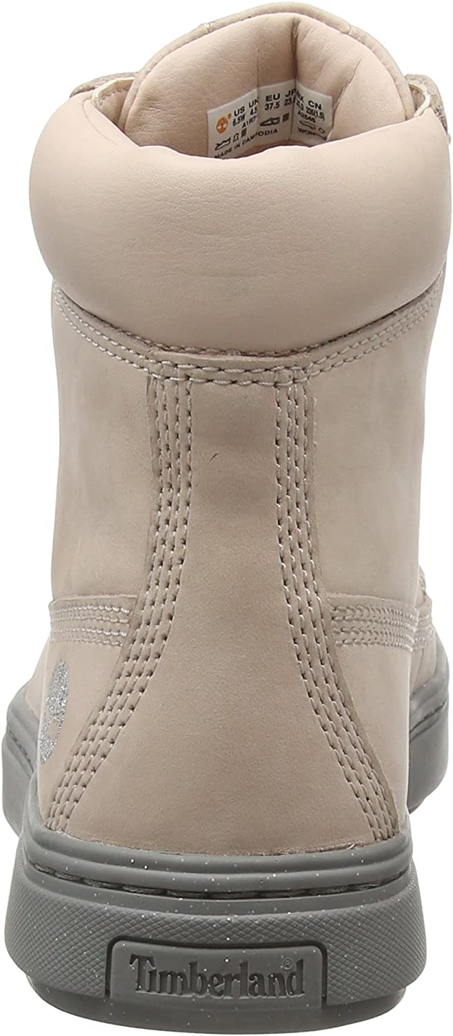 Timberland Londyn, Bottes Classiques Femme Rose Cameo Nubuck 662