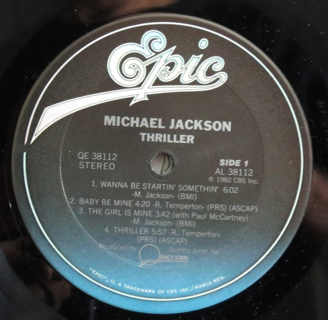 - Thriller (USA 1st pressing vinyl LP) - Amazon.com Music