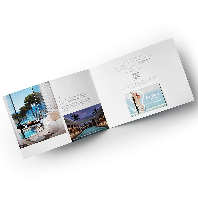 Tarjeta Regalo de puntos MeliáRewards para canjear por noches de hotel, tratamientos de Spa y desayunos, comidas o cenas en hoteles Meliá (35.000 ...