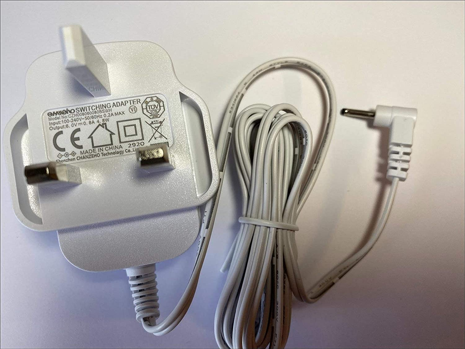 gaixample.org White 6V 800mA Switching Power Supply for Model ...