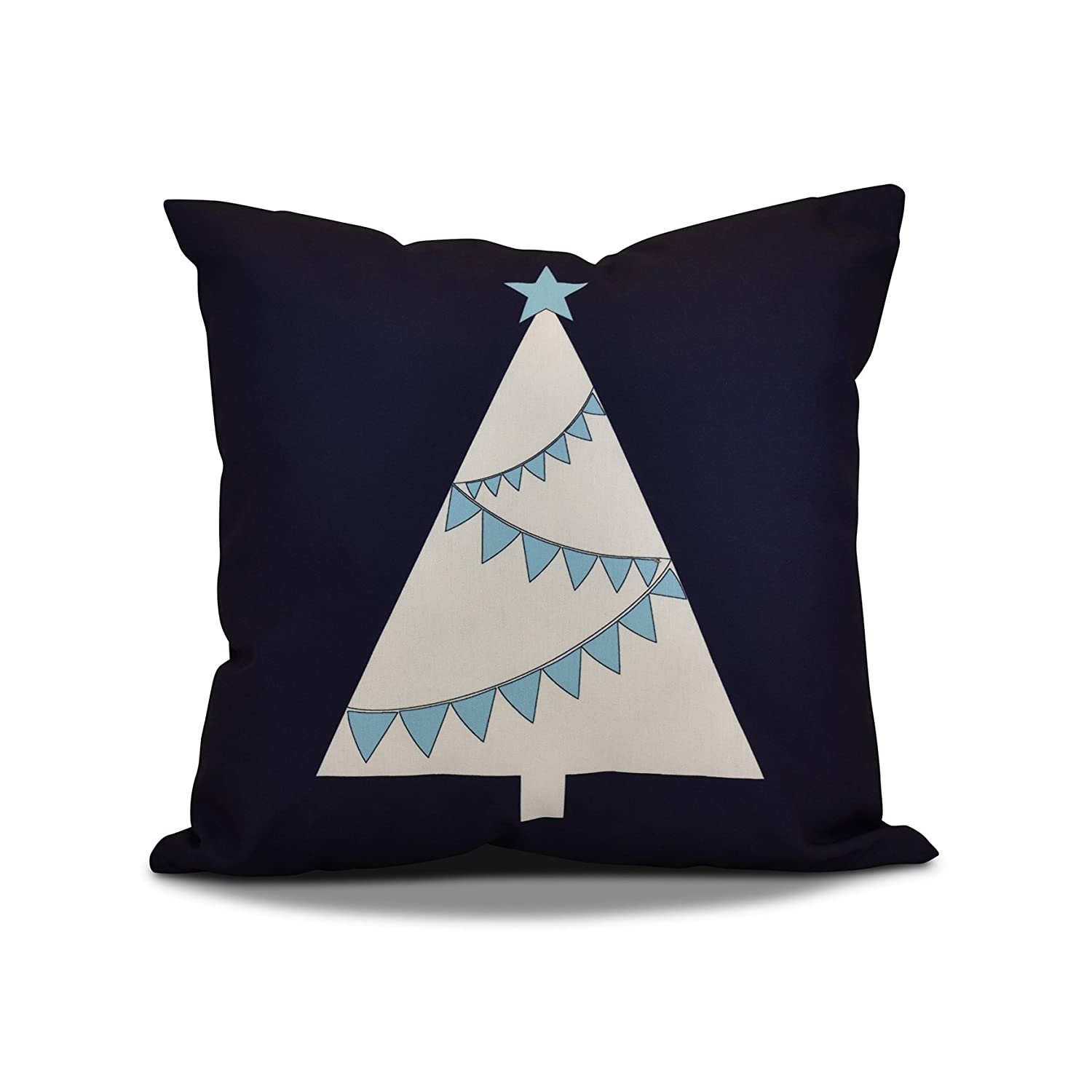 E by design O5PHGN705GY1RE6-16 Printed Outdoor Pillow