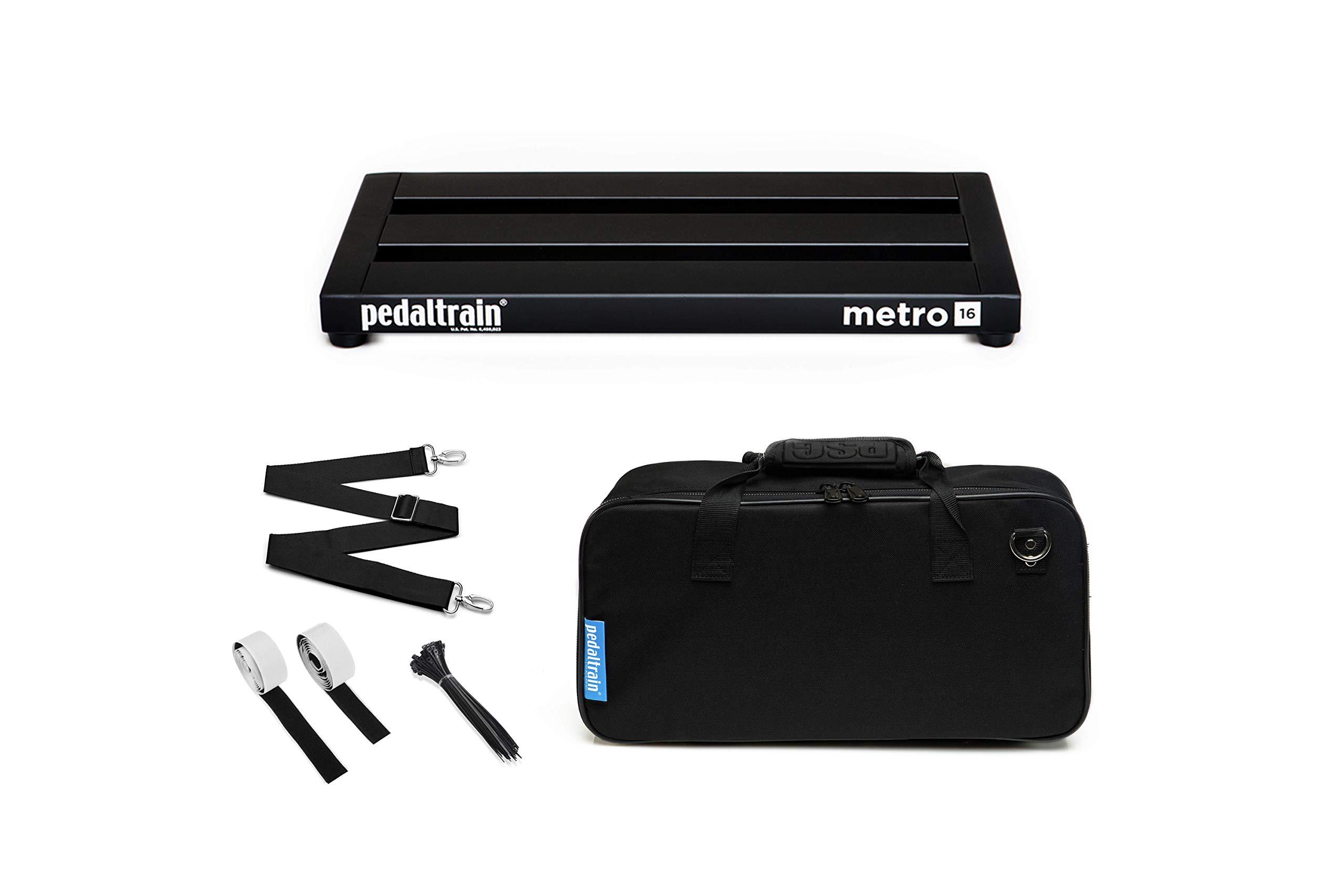 Pedaltrain Metro 16 with Soft Case PT-M16-SC by Pedaltrain