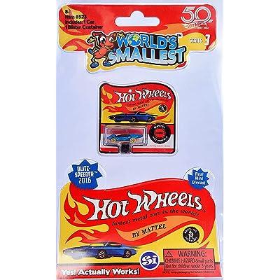 Worlds Smallest Hot Wheels Series 3 (BlitzSpeeder): Toys & Games