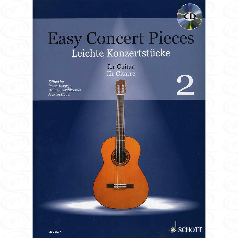 Easy Concert Piezas 2 - Organizado para guitarra - con CD [hoja de ...