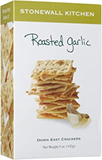 product image for Stonewall Kitchen Roasted Garlic Crackers, 5 Ounces