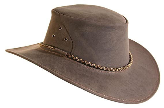 67c43024b585d Real Australian Traveller Leather Hat The Roo