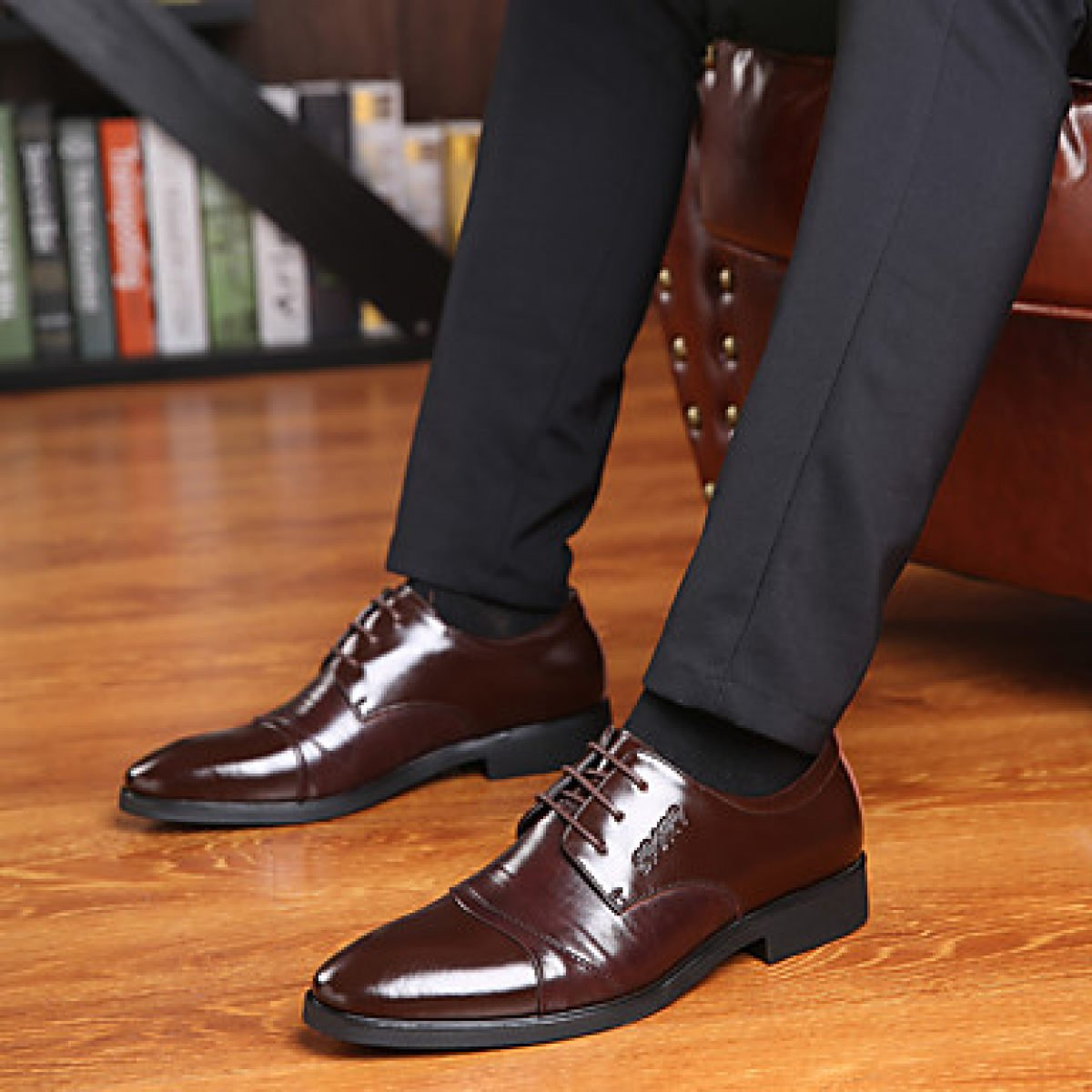 Herren Big Halbschuhe Business Style Big Herren Größe Büro Karriere Casual d0a1bd