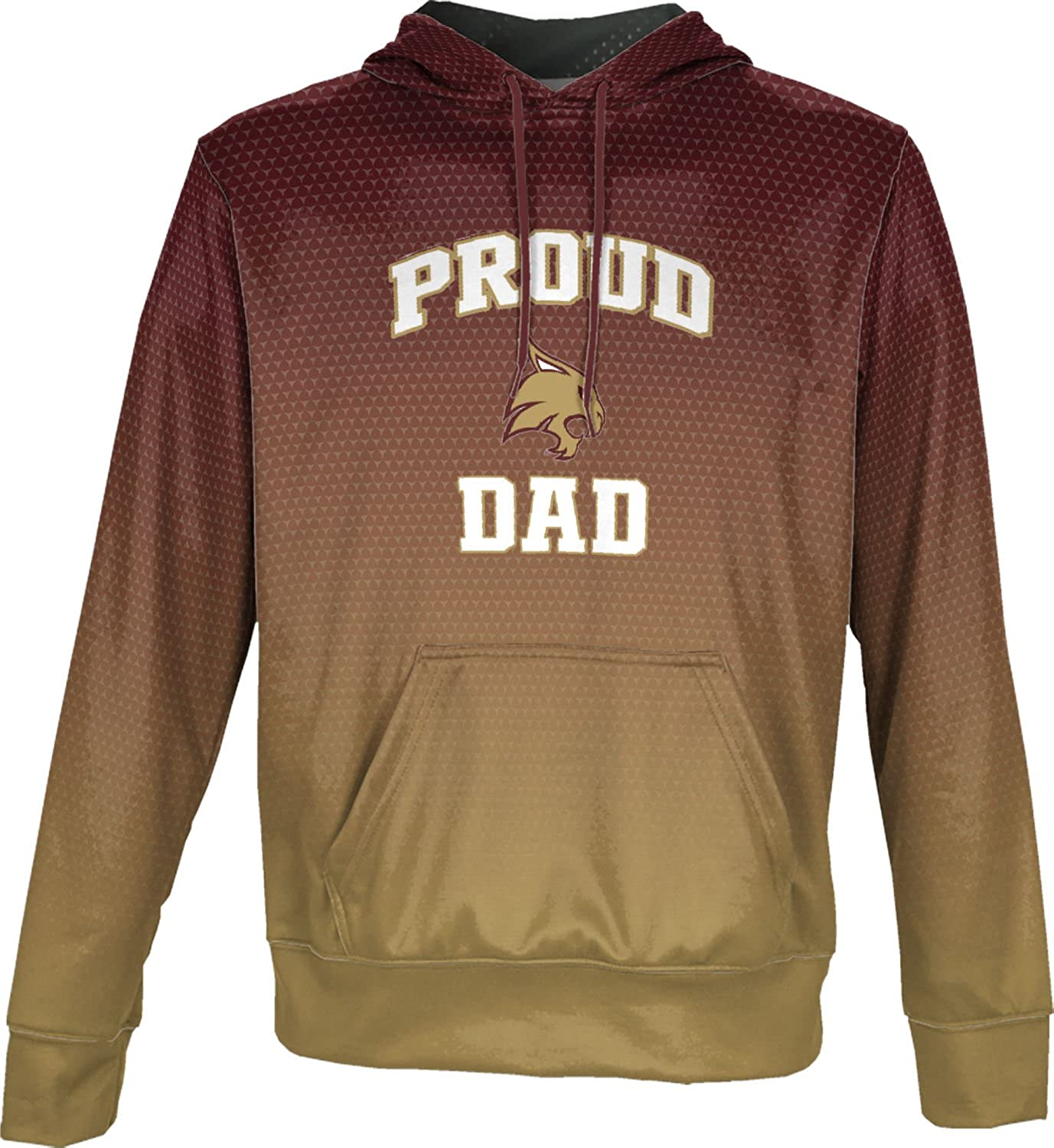 Zoom School Spirit Sweatshirt ProSphere Texas State University Fathers Day Mens Pullover Hoodie