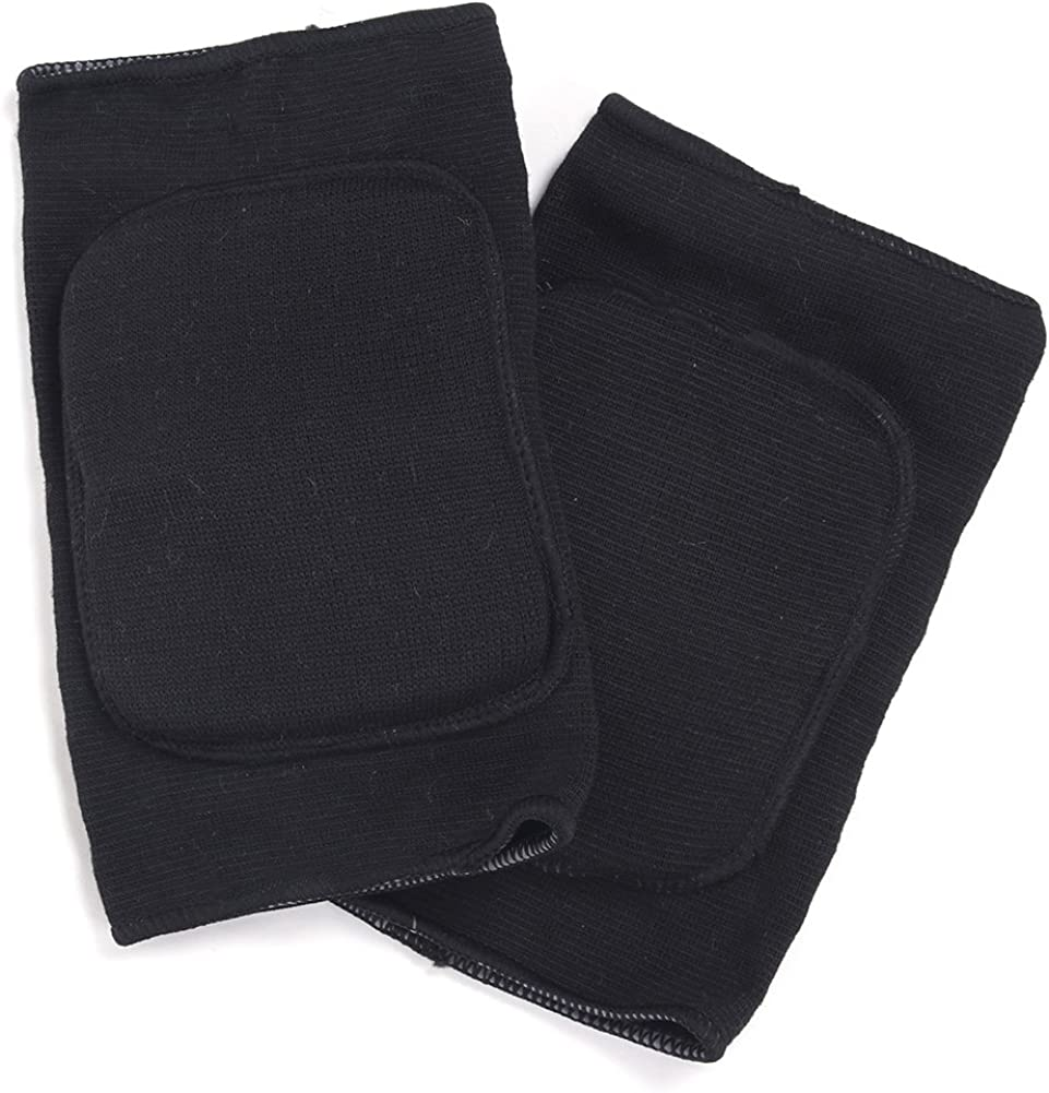 ROLECOS Volleyball Knee Pads Black Cosplay Elastic Knee Support CA158A