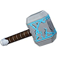 Marvel AVENGERS - Thor Ragnarok - Rumble Strike Hammer with Sound Effects - Super Hero Kids Dress Up Toys - Ages 5+