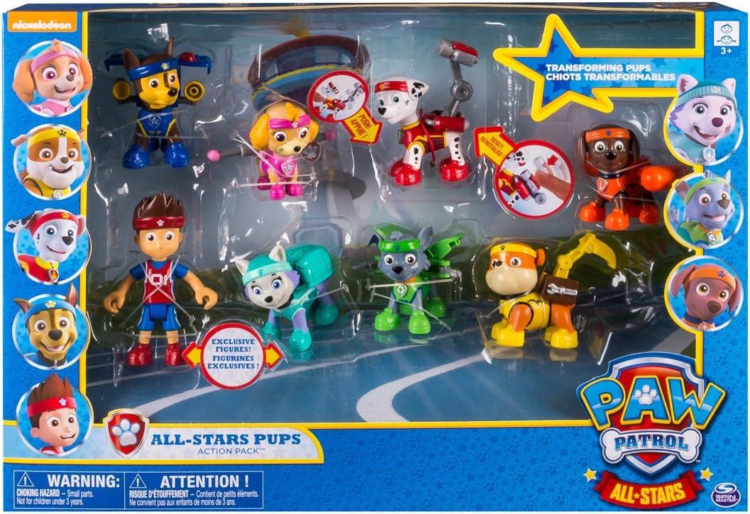 Bizak Patrulla Canina Pack de 8 Figuras (61926657): Amazon.es ...