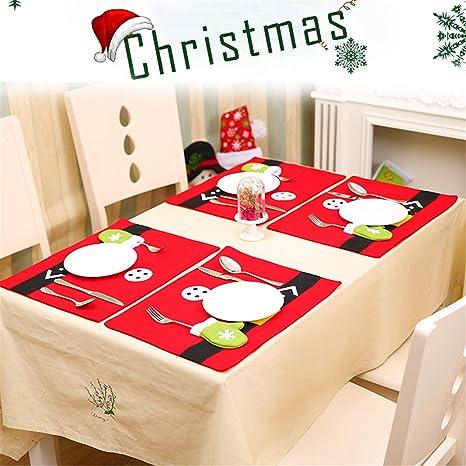 Amazon.com: d-foxes 5pc Santa Claus Navidad Bolsas de cordón ...