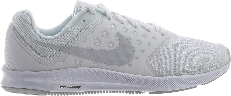Nike Downshifter 7, Zapatillas de Running Hombre, Blanco (White/Pure Platinum), 42.5 EU: Amazon.es: Zapatos y complementos