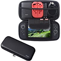 Insten Travel Carrying Case for Nintendo Switch, [Full Protection] with 4 Card Slots Protective EVA Hard Shell Case For Nintendo Switch Console [2017 New Release], Black