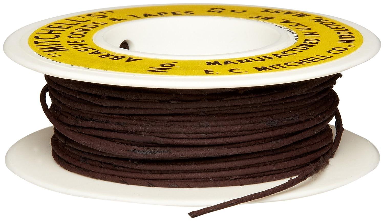 Silicon Carbide 180 Grit .040 Diameter x 25 Feet Mitchell Abrasives 53-S Round Abrasive Cord