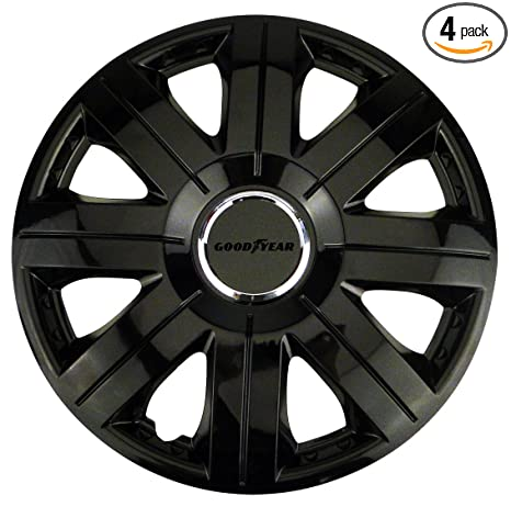 Image Unavailable. Image not available for. Color: Goodyear Flexo 75509 Wheel Covers ...