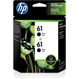 HP 61 Black Original Ink, 2 Cartridges (CZ073FN)