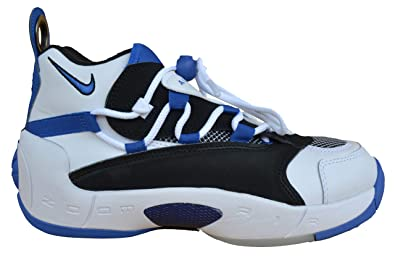 super popular 9187a 82d55 Nike W Air Swoopes II, Sneakers Basses Femme, Multicolore (WhiteGame Royal