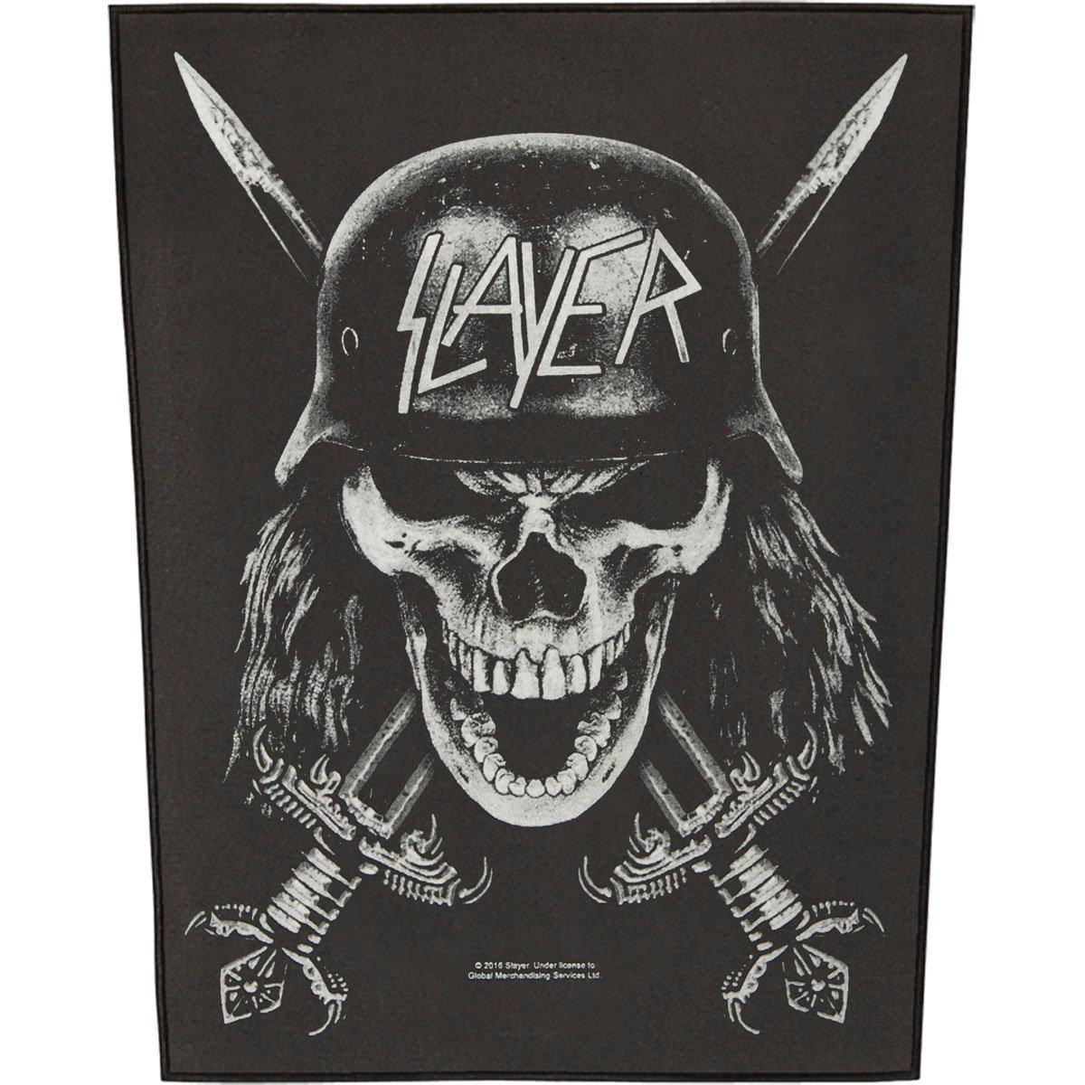 Slayer Men's Wehrmacht Back Patch Black RAZAMATAZ