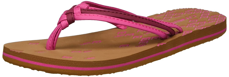 O'Neill Damen FW 3 Strap Ditsy Flip Flop Zehentrenner, Pink (Pink Allover Print), 42 EU