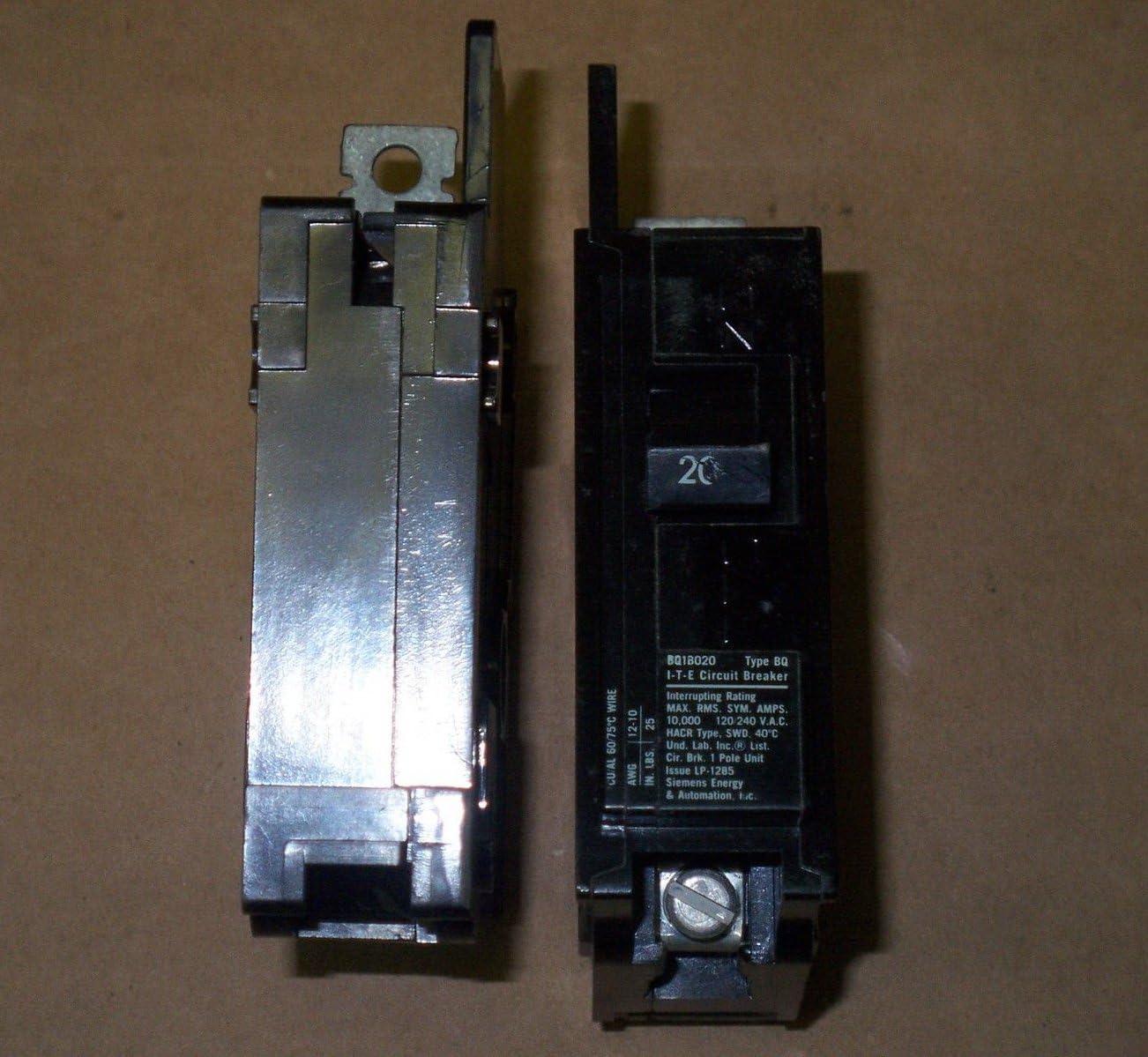 Bq1b020 20 Amp 1 Pole Eq-b Breaker