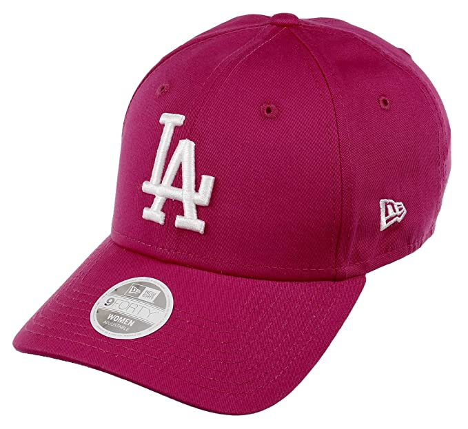 check out d938c ae51b New Era Los Angeles Dodgers 9forty Adjustable Women Cap League Essential  Pink - One-Size  Amazon.co.uk  Clothing