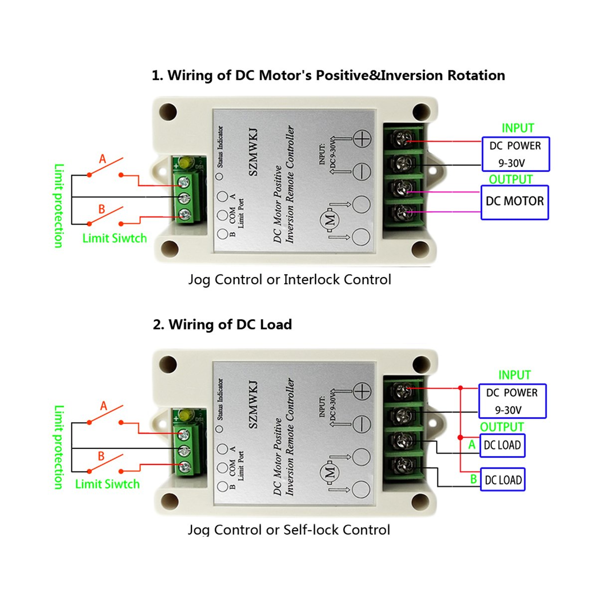 Op Amp Circuit Remote Control Diagram Symbols Dualliquidlevelsensorcircuitdiagramjpg Amazon Com Szmwkj Wireless Motor Controller Rh Circuits Tutorial