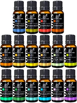 ArtNaturals Aromatherapy Top-16 Essential Oil Set - 100% Pure of the  Highest Therapeutic d537b876d