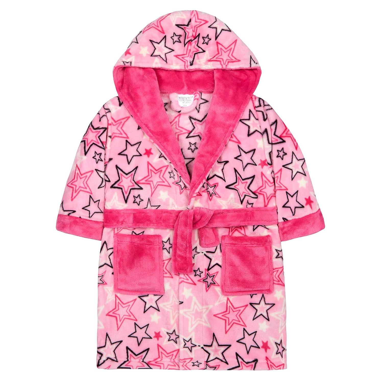 Lora Dora Girls Luxury Hooded Dressing Gown Shoe Directory LB5538