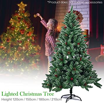 Image Unavailable - Amazon.com: 5ft 6ft 7ft 8ft Green Artificial Christmas Trees,Iron