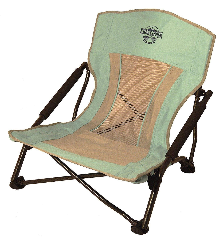 Crazy Creek Products Quad Beach/Festival Chair - Seafoam One Size [並行輸入品] B074DG7KP5