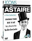Fred Astaire - Swing Time/Top Hat/You'll Never Get Rich/You Were Never Lovelier [DVD]