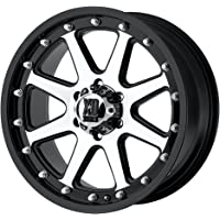 """XD Series by KMC Wheels XD798 Addict Matte Black Wheel With Machined Accents (20x9""""/5x139.7mm, 12mm offset)"""
